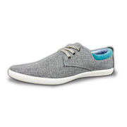 Men's casual shoes have linen-suede-nubuck uppers