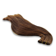 100% natural human hair weave