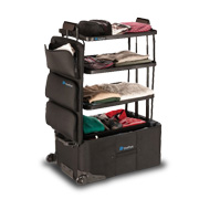ShelfPack, a revolutionary luggage that keeps contents organized