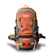 Hiking backpack features air-bearing system
