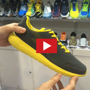Lightweight breathable running shoes [VIDEO]