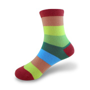 Colorful children's crew socks