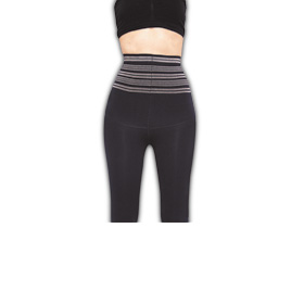 Wave-knitted slimming women's tights