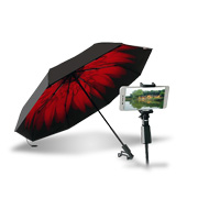 Umbrella allows users to take selfies
