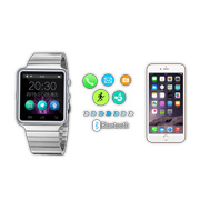 Smart watch features interchangeable faces