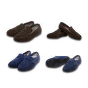 Men's loafers adopt Rain-Tex technology