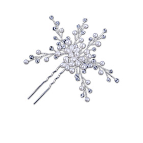Statement hair pin is handcrafted