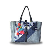Gallery View: India canvas bags highlight visual appeal