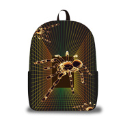 Daypack features 3D luminous print