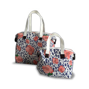 Nonwoven tote bag uses recycled fabric