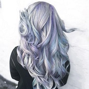 Holographic hair is majestic and it's trending on Instagram