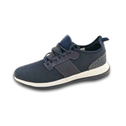 Men's sneakers with knitted fabric uppers