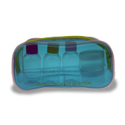 Cosmetic bag uses phthalate-free PVC