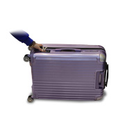 PC luggage equipped with fingerprint scanner