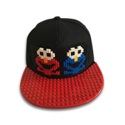 Lego-inspired urban fashion cap