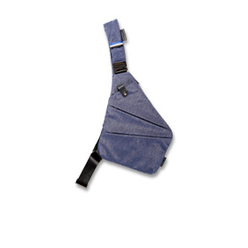 Sling backpack with quick-release strap
