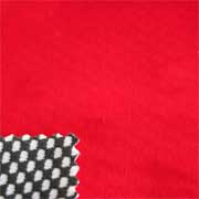 Water-resistant polyester-bamboo charcoal bonded fabric
