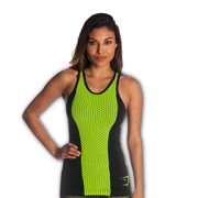 Cool-dry women's sports top