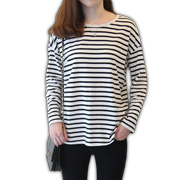 Gallery View: Diverse fabrics, styles jazz up women's crew-neck pullovers