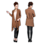 Anti-pilling pure cashmere women's cardigan