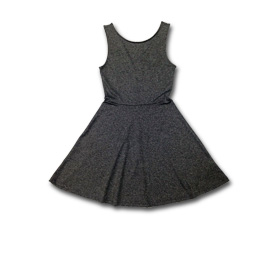 Girl's sleeveless dress in cotton-Lycra