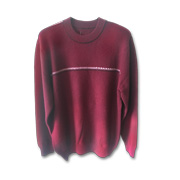 Men's pullover uses local Baishan cashmere