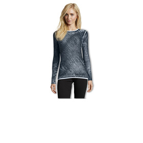 Women's pullover in bamboo-cashmere blend