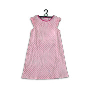 Girl's sleepwear with allover heart print