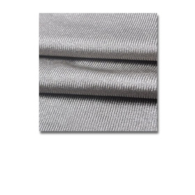 Silver-coated EMI shielding fabric