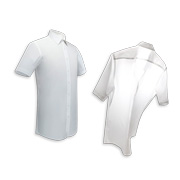 Men's business shirt does not need ironing