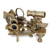 Brass leads India nautical gifts material options