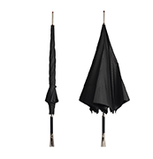 British-style promotional umbrella withstands wind level 8