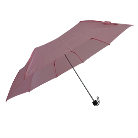 Trifold umbrella for promotional use