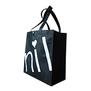 Promotional nonwoven tote bag for shopping