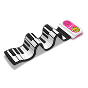 Foldable piano can be used 8 hours straight
