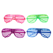 Flashing LED party spectacles