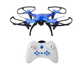 Toy drone supports 3D stunt tumbling