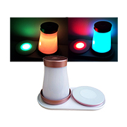 LED dice cup, coaster flashes rainbow colors