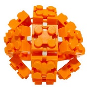 Flexible toy bricks stretch the imagination