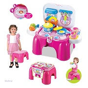 WolVol Electric Take Along Kids Kitchen Cooking Set Toy