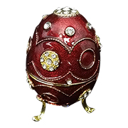 Fabergé egg-style jewelry box