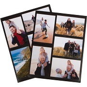 Magnetic Photo Collage Frame for Refrigerator, Set of 2