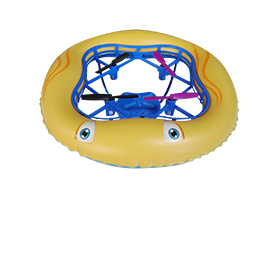 Airbag-protected promotional toy drone