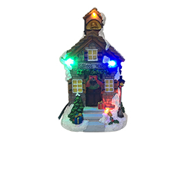 Schoolhouse decoration adopts LED