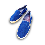 Casual shoes made of handspun cotton