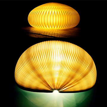 Kraft paper lamp shade is foldable mozeypictures Image collections