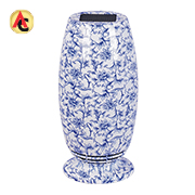 Air purifier resembles porcelain vase
