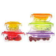 Glass cookware resists -20 to 600 C