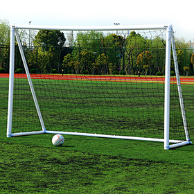 Inflatable, portable soccer goal