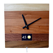Smart clock tells more than just the time
